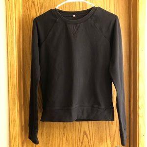 Lululemon Black Long-sleeve Top